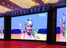 P2.976 Indoor Advertising Rental LED Display Screen MBI5158IC 3840Hz 500x1000mm Cabinet