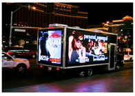 Mobile Advertising Trailer LED Display , Electronic Billboard LED Display P4mm